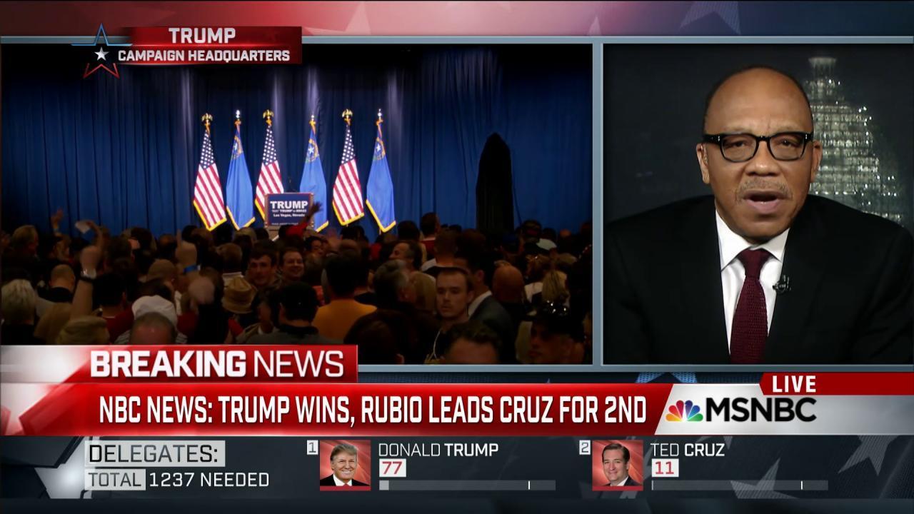 Trump victories keep politics unpredictable