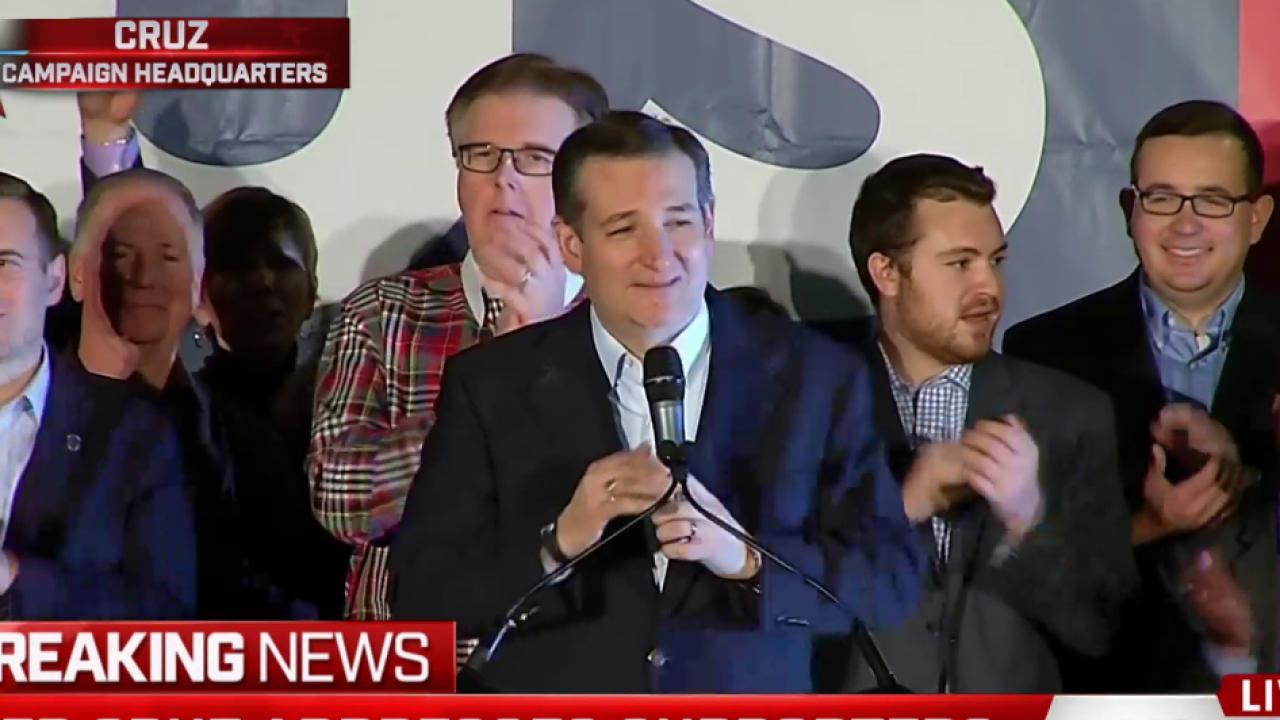 Cruz looks to Super Tuesday