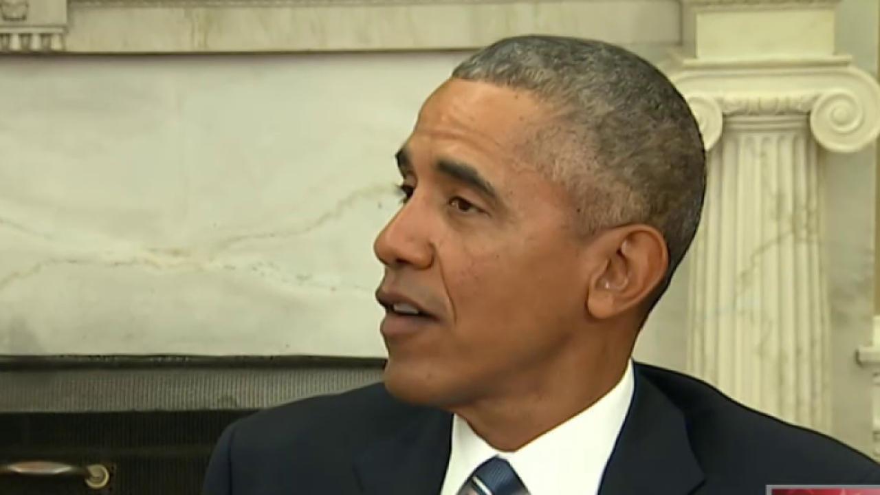 Pres. Obama: 'I'm going to do my job'