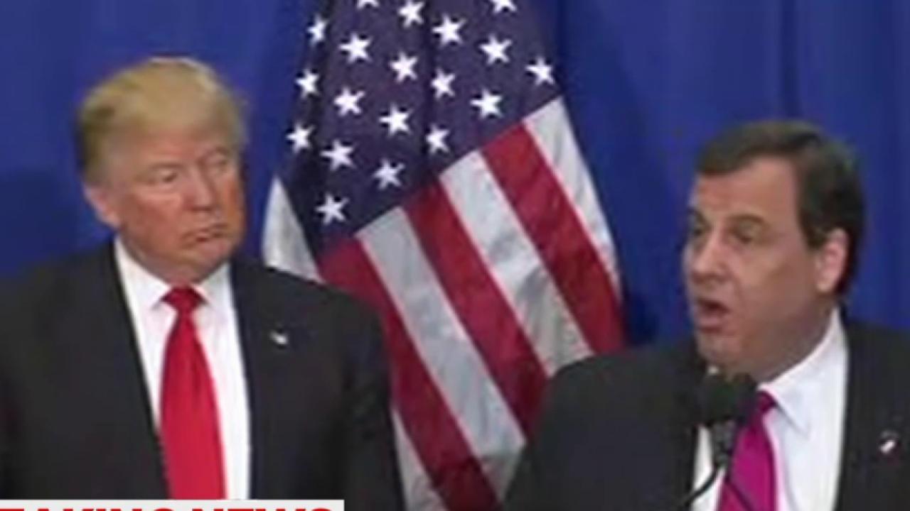Chris Christie endorses Trump