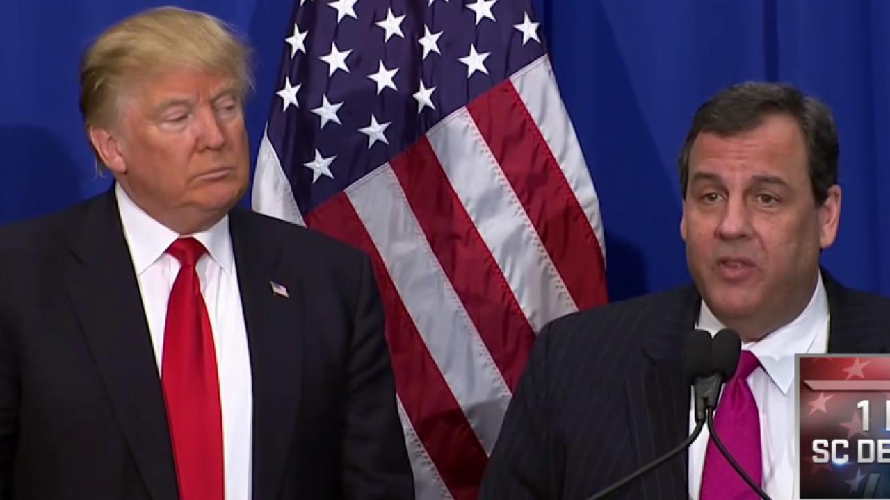 Christie Endorses Trump, Slams Rubio