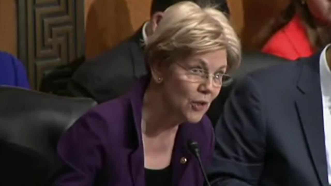 When will Elizabeth Warren share her support?