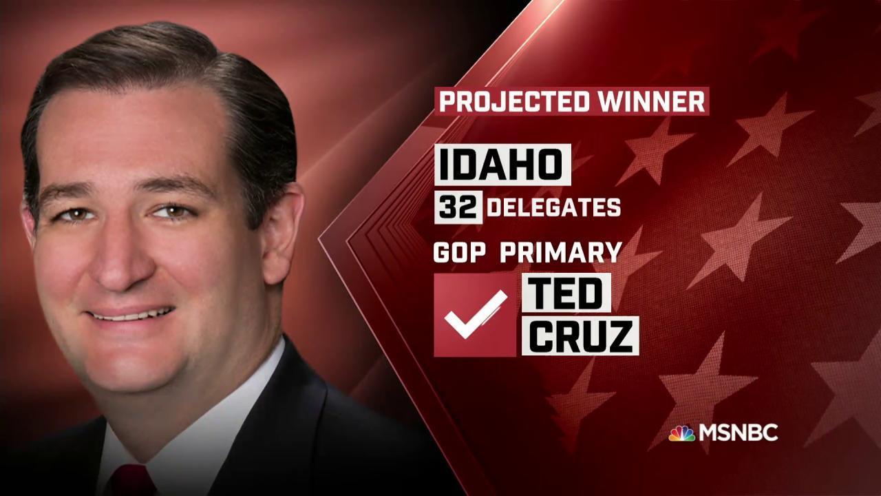 Cruz projected winner of ID GOP primary