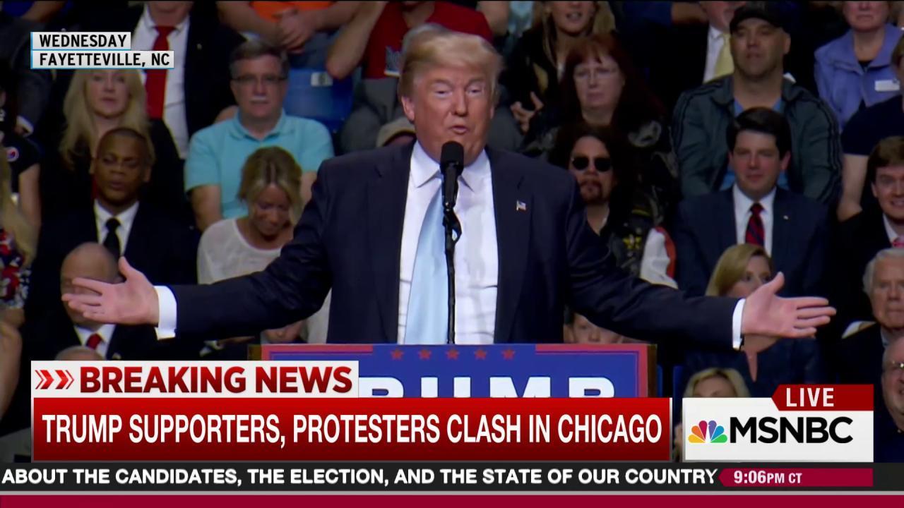 Escalating aggression marks Trump's rhetoric
