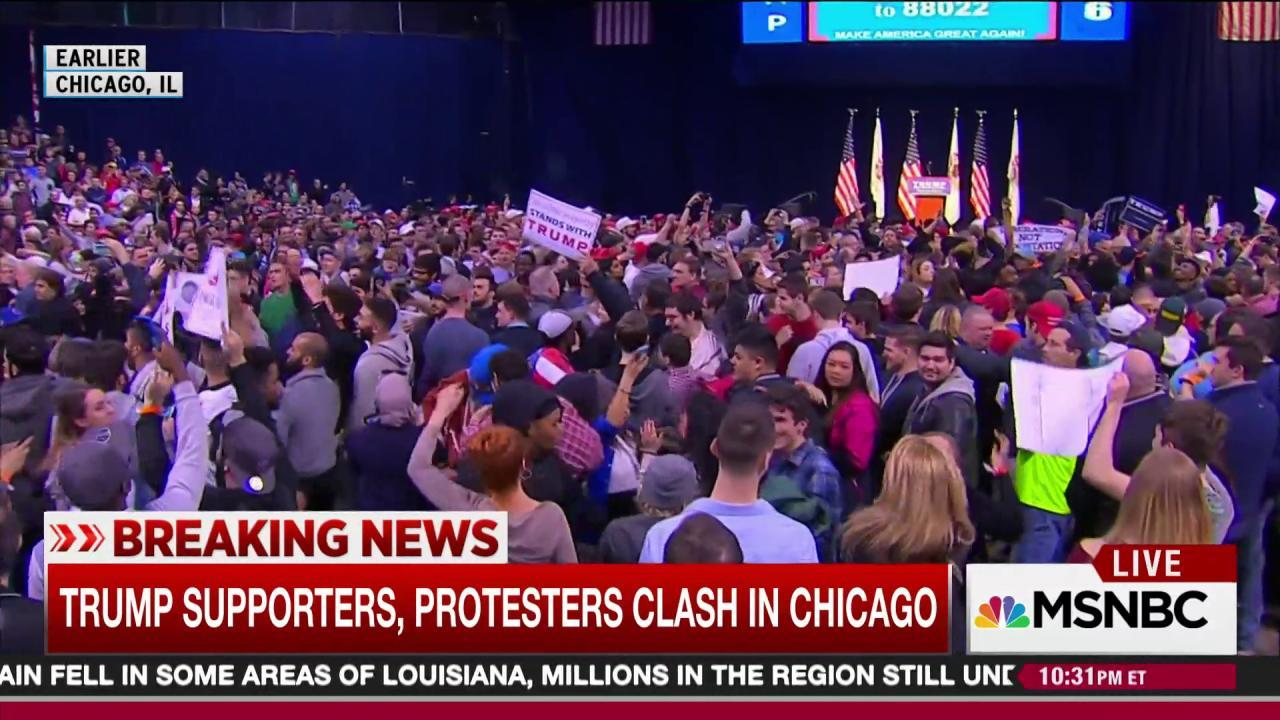 Trump rally witness: 'It was a powder keg'