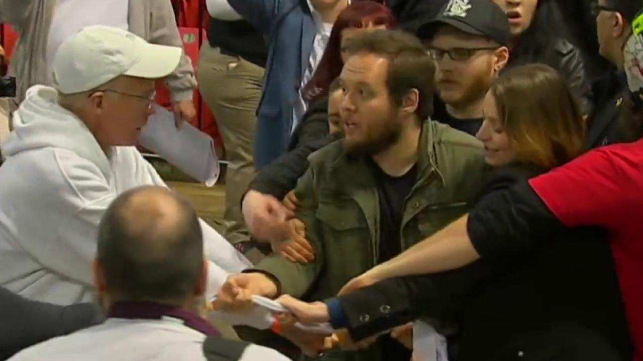 Trump events resume after Chicago protests