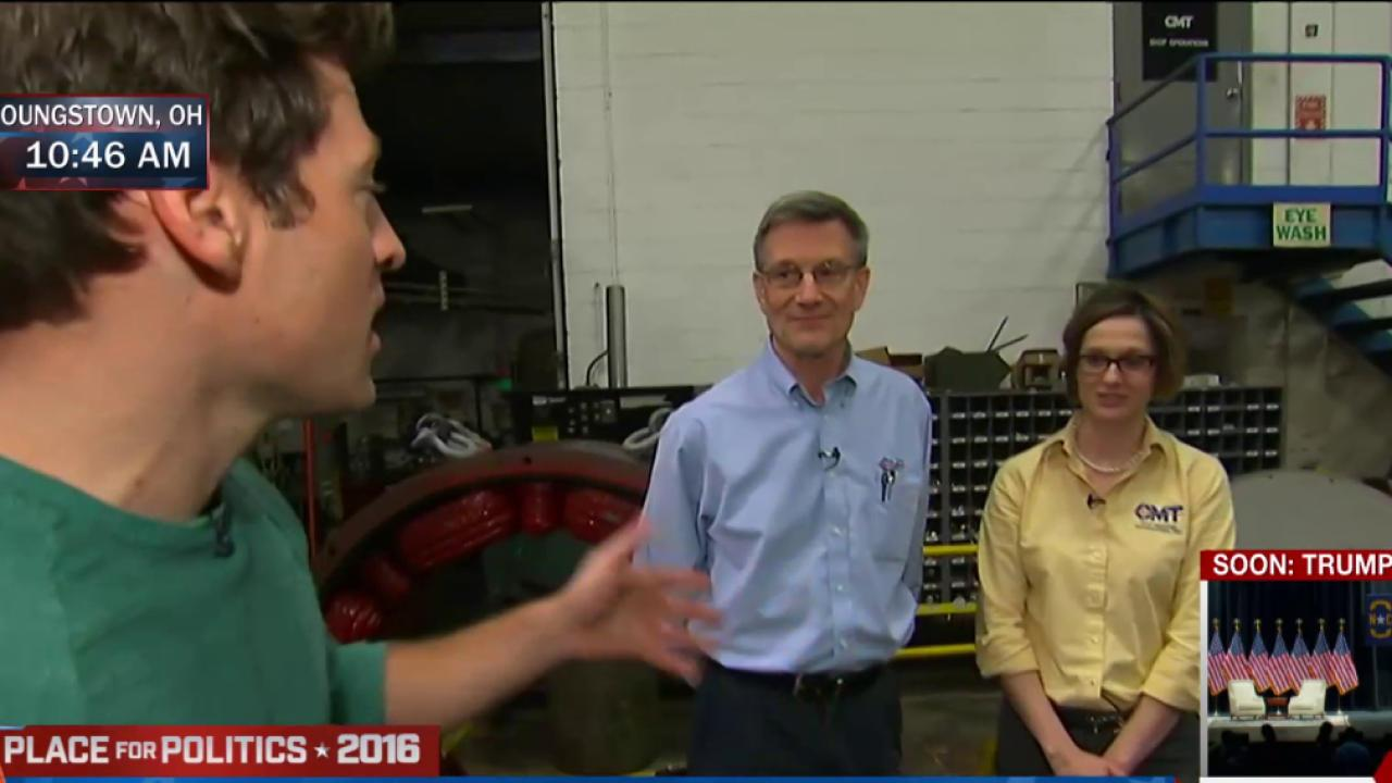 Local Ohio workers weigh in on Kasich, Trump