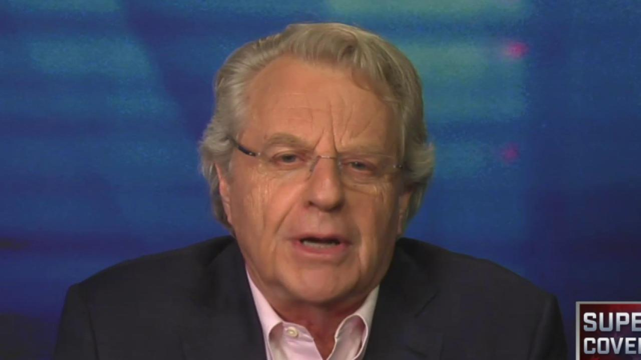 Jerry Springer compares 2016 to his talk show
