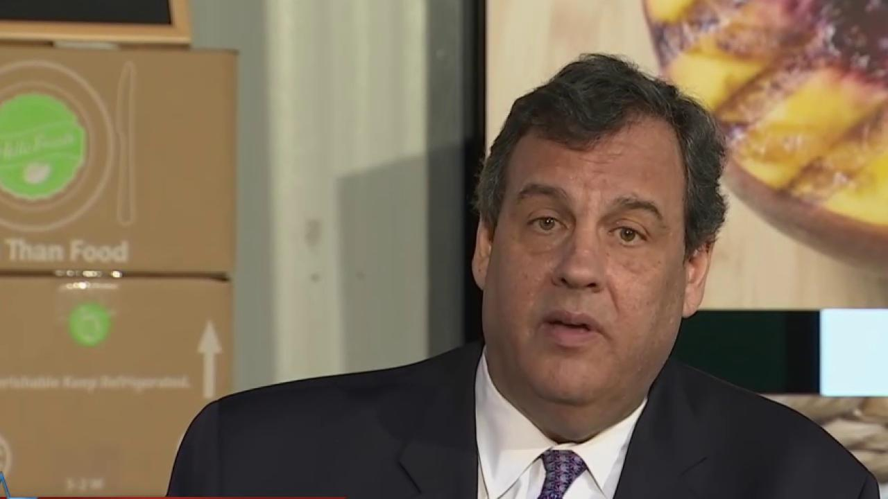 Christie: 'I bring sense of calm to Trump...