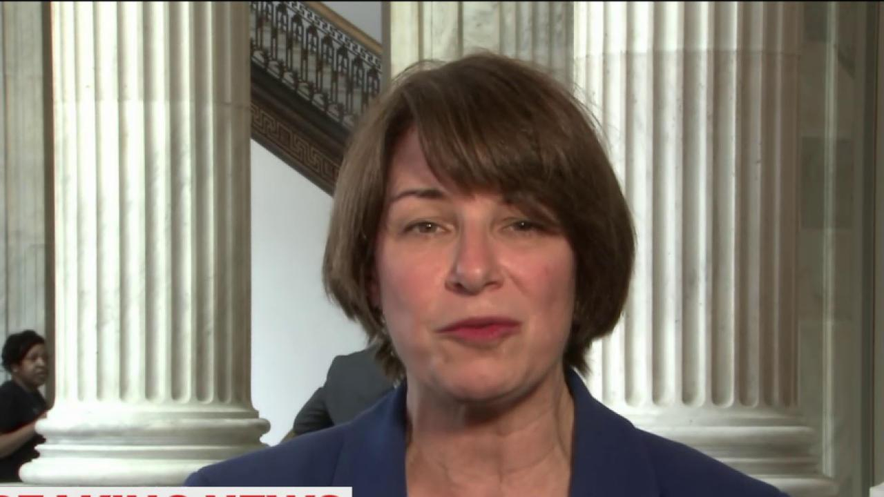 Sen Klobuchar: Garland is 'person of merit'