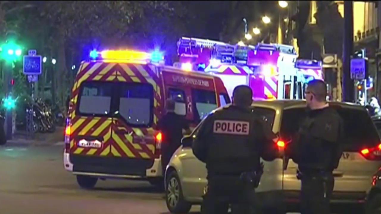 Four terror suspects arrested in Paris suburb