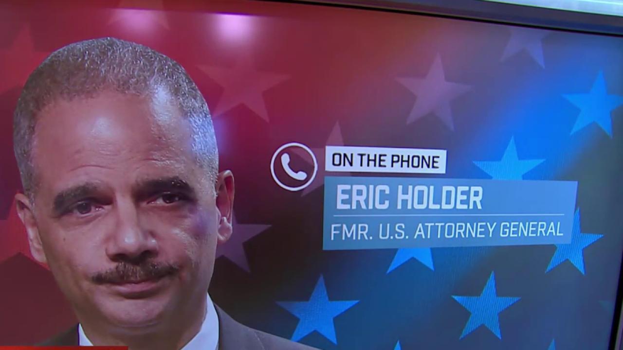 Holder: Focus should be confirmation of...
