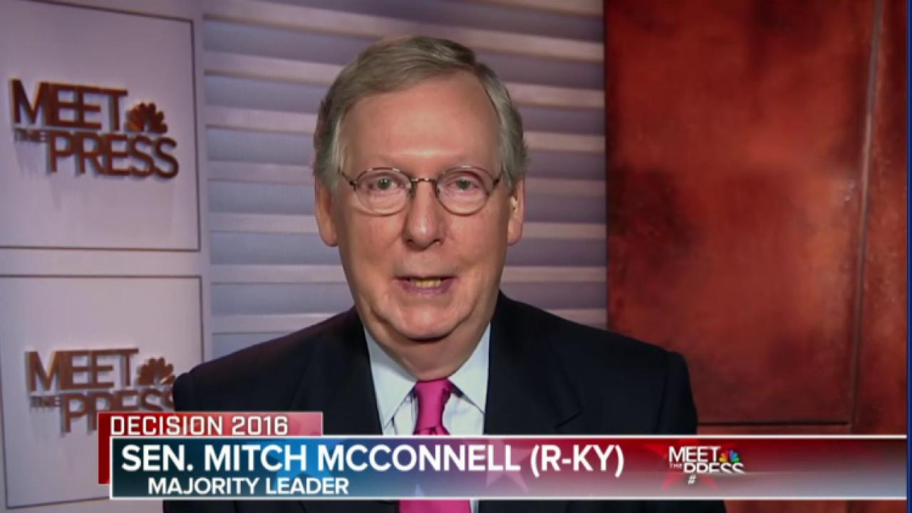 McConnell: No lame duck SCOTUS confirmation
