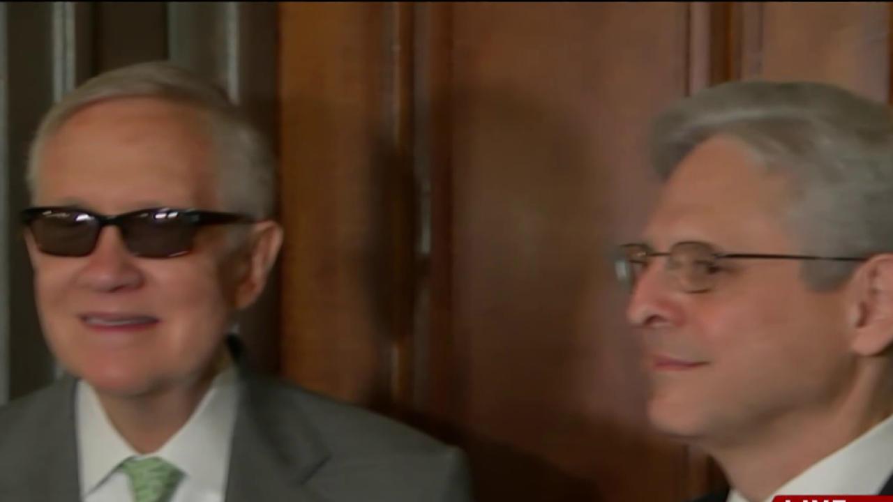 McConnell, Reid clash over SCOTUS nomination