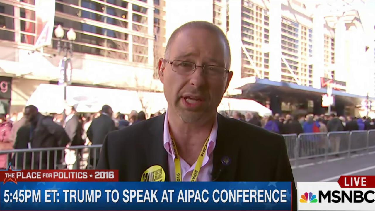 Rabbi Paskin on anti-Trump protest