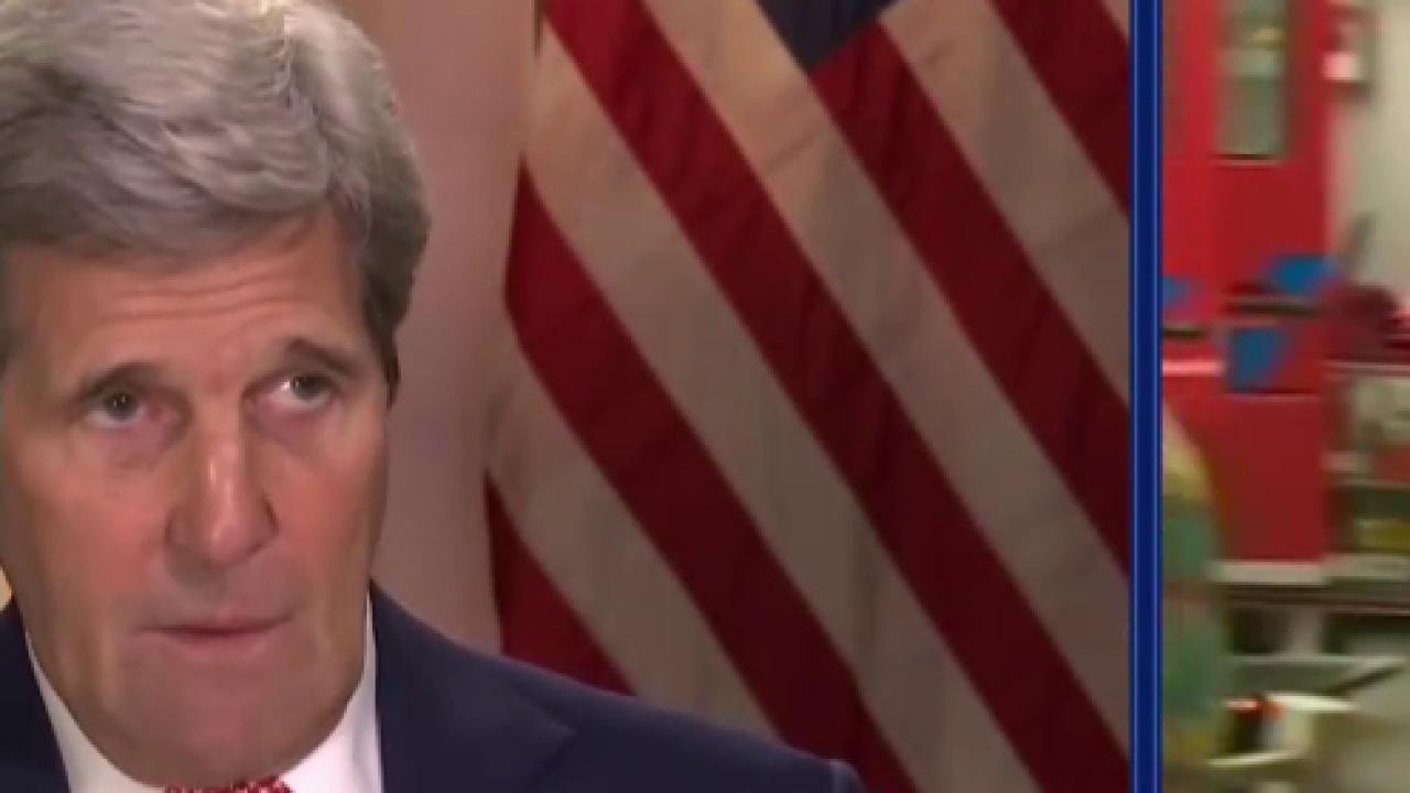 Secy. Kerry: 'People need to be vigilant'