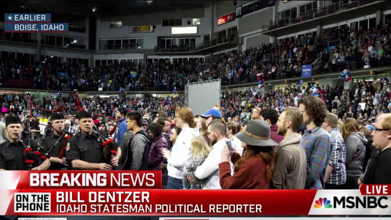 Massive turnout slows Idaho Democratic caucus