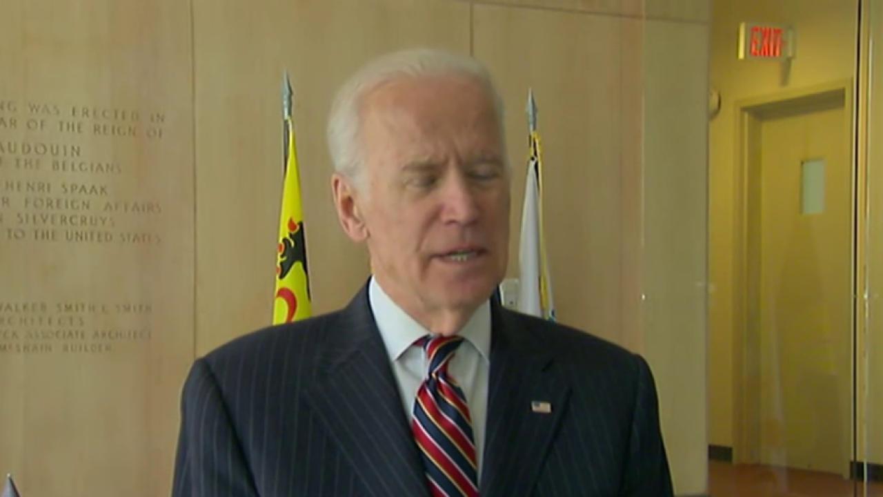 Biden on Belgium: 'They will prevail'