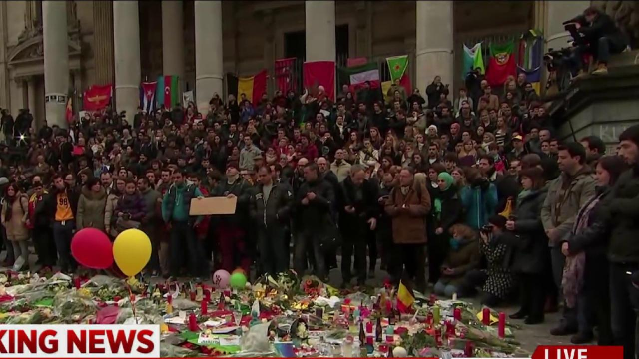 Moment of silence observed across Belgium