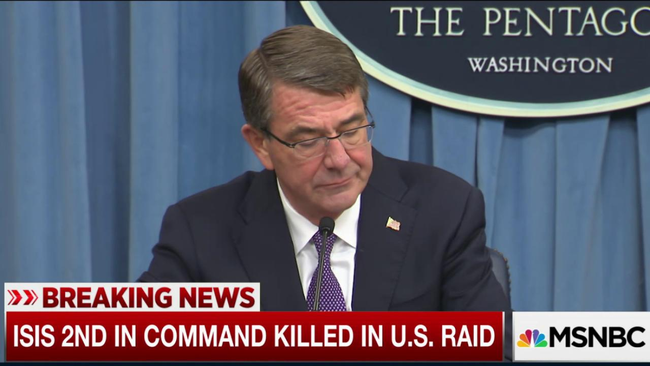 ISIS 2nd in command killed in U.S. raid