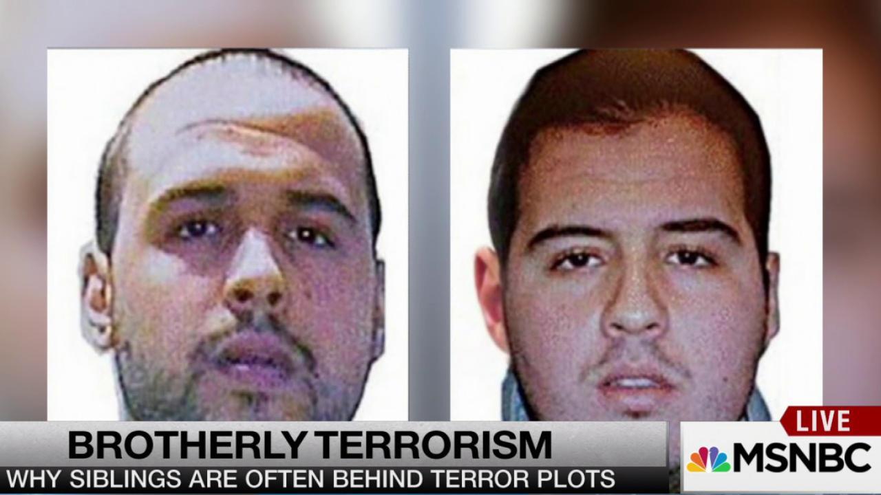 Why siblings are often behind terror plots