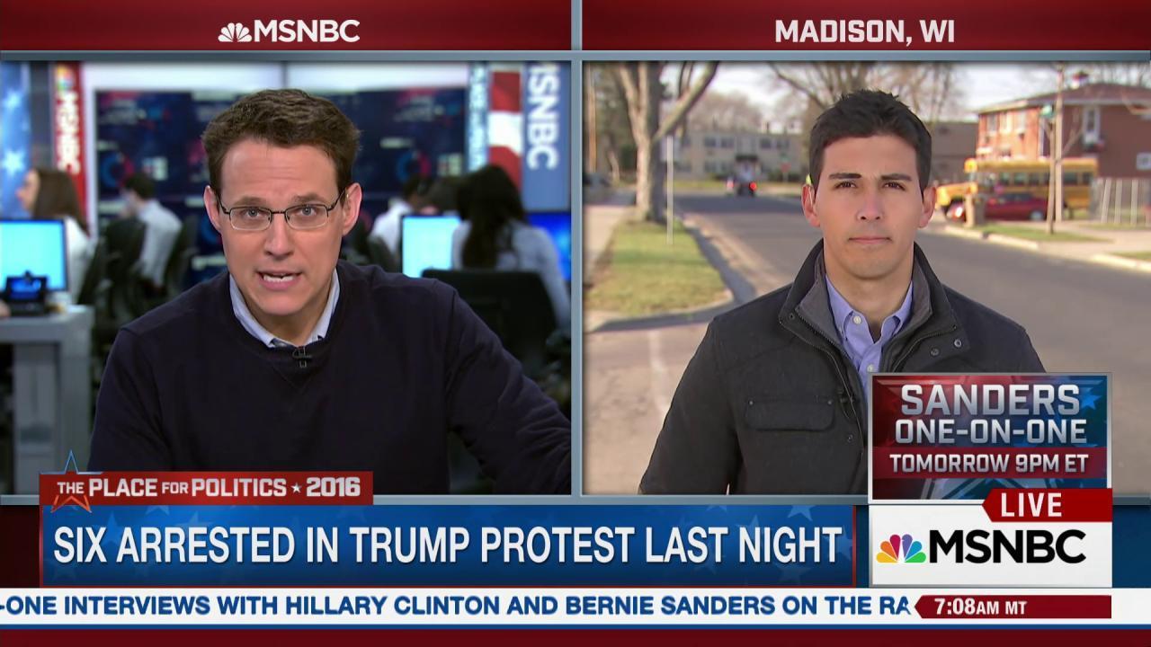 Trump tussles with radio host
