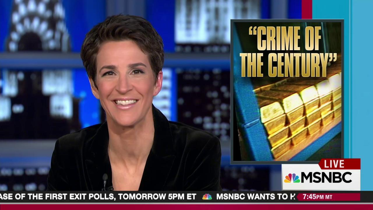 Panama Papers include gold heist money scheme