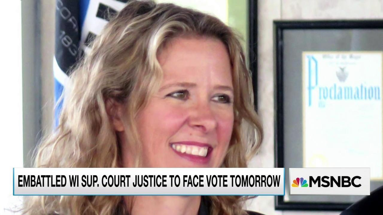 Judge faces voters' judgment in Wisconsin