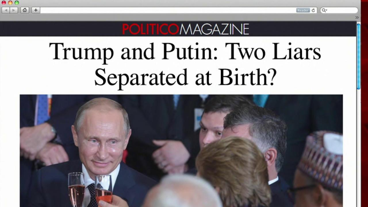 Lie after lie: Putin, Trump separated at...