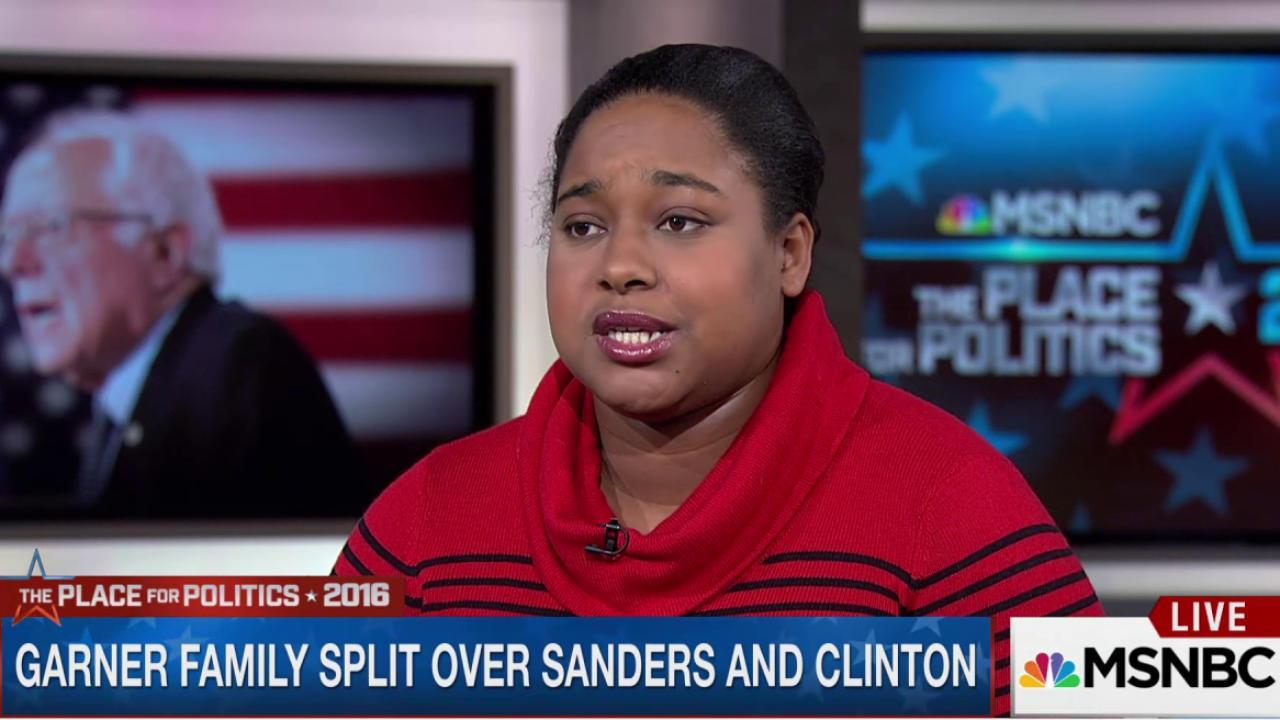 Daughter of Eric Garner talks 2016 race