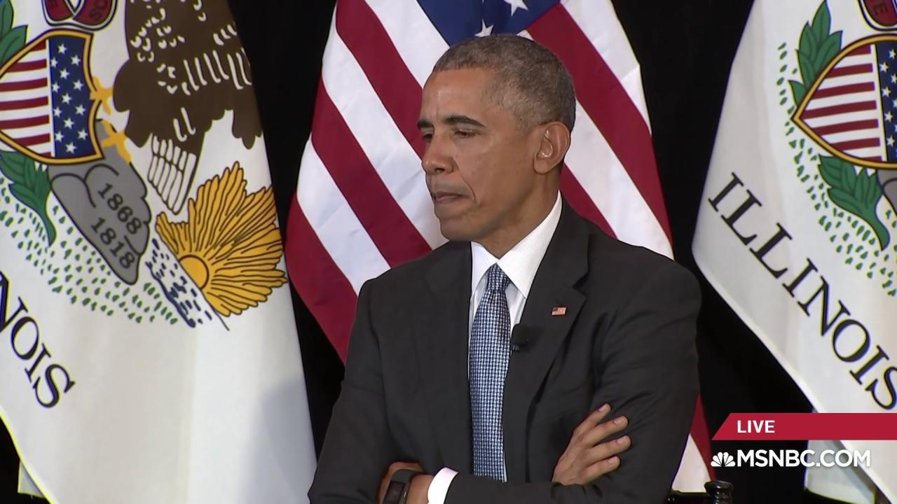 Obama: Encryption debate 'tip of the iceberg'