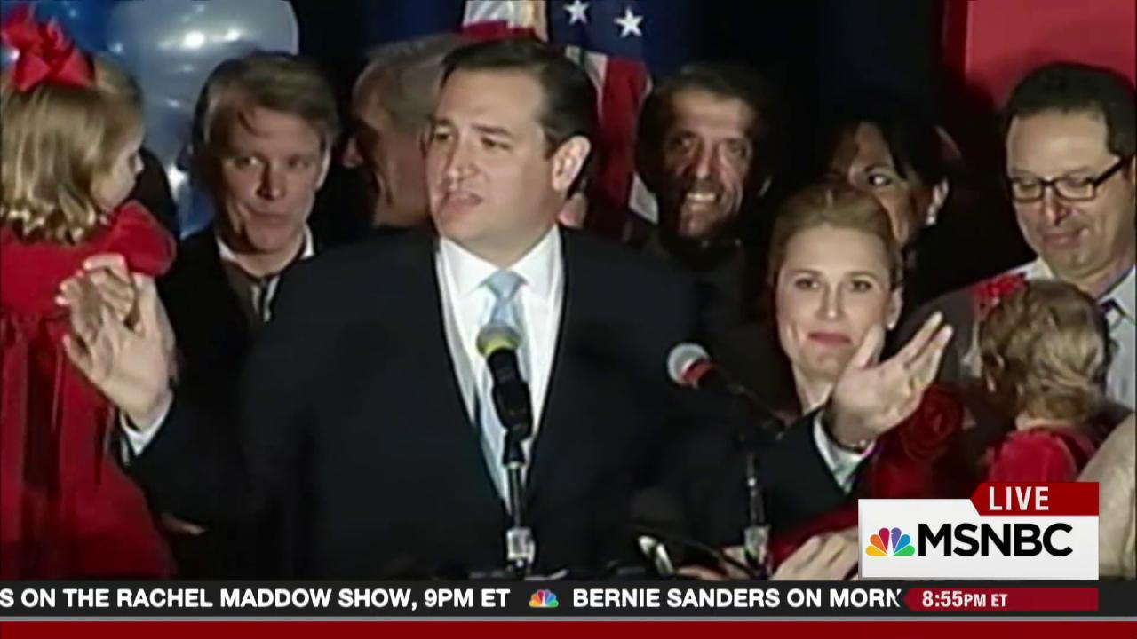 The normalizing of Ted Cruz