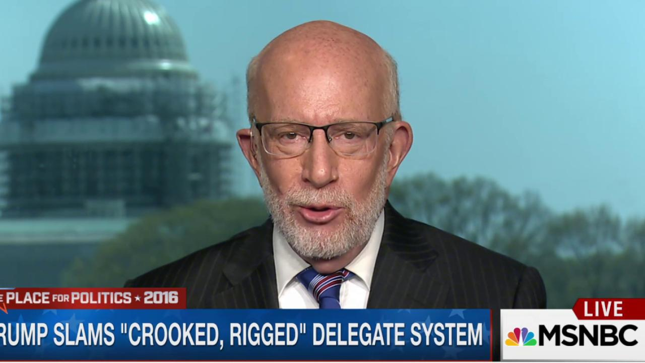 Trump slams delegate system as 'rigged'