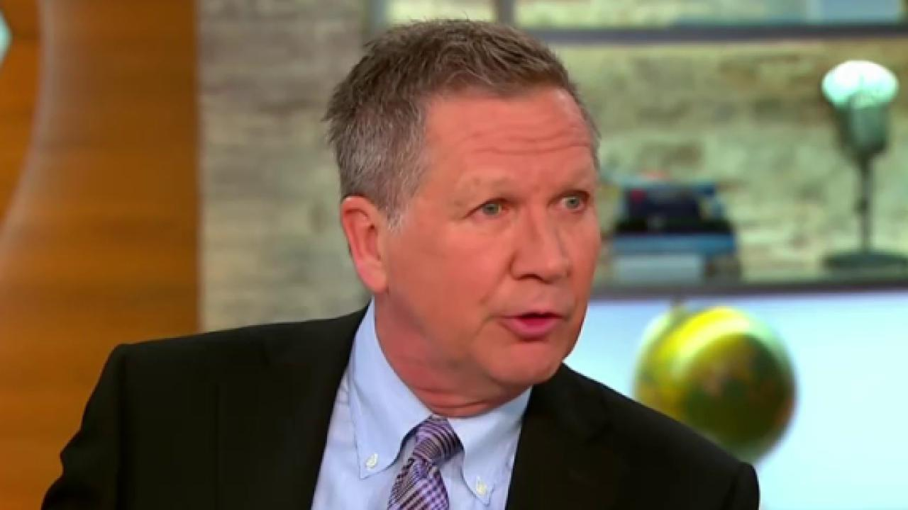 Kasich: 'Zero chance' I'd be Trump's VP