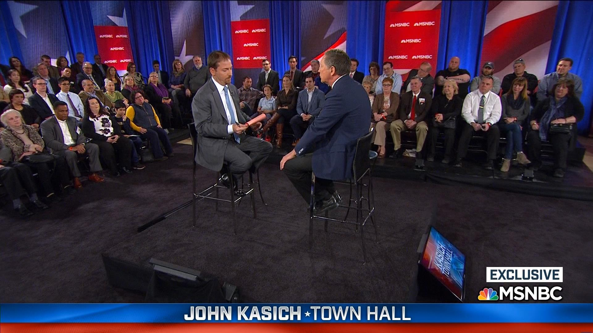 Kasich: I don't think Trump will be the...