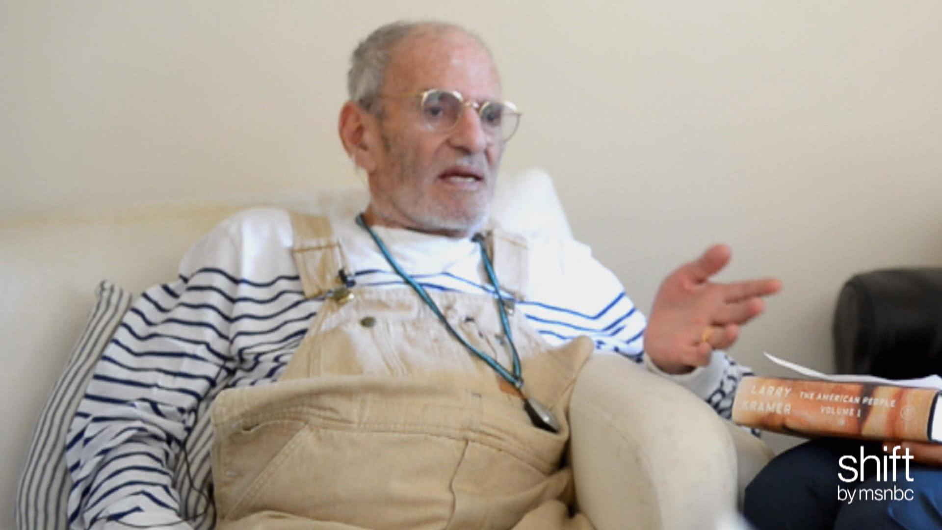 Larry Kramer plays 'word association'