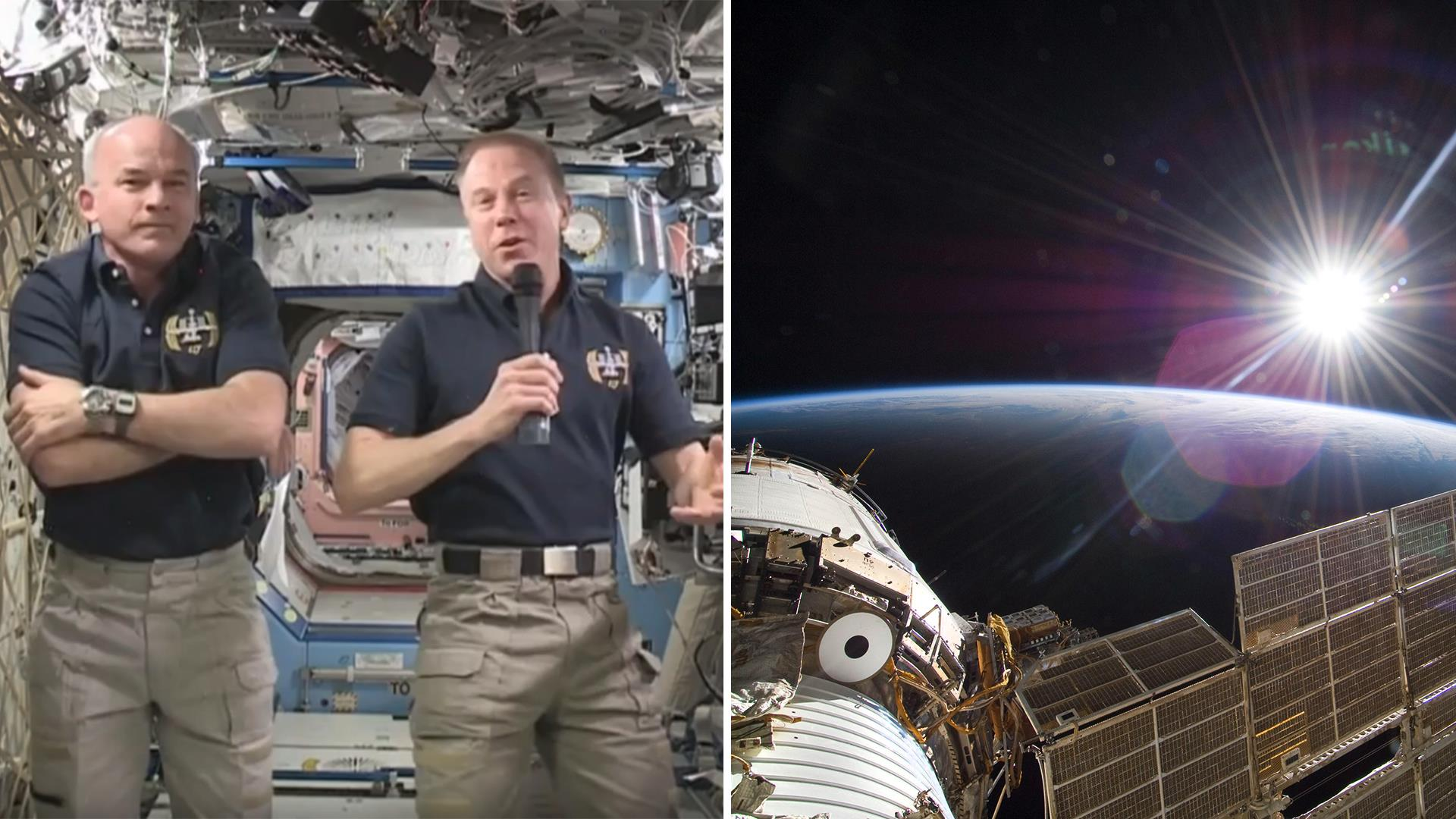 astronaut in space today - photo #46