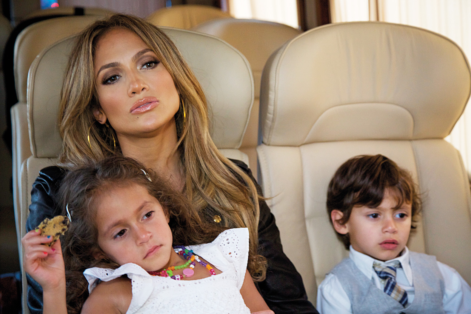 Jennifer Lopez open up about the relationship with the father of their children