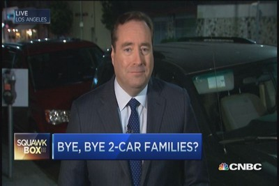 Wave Goodbye to the Two-Car Family