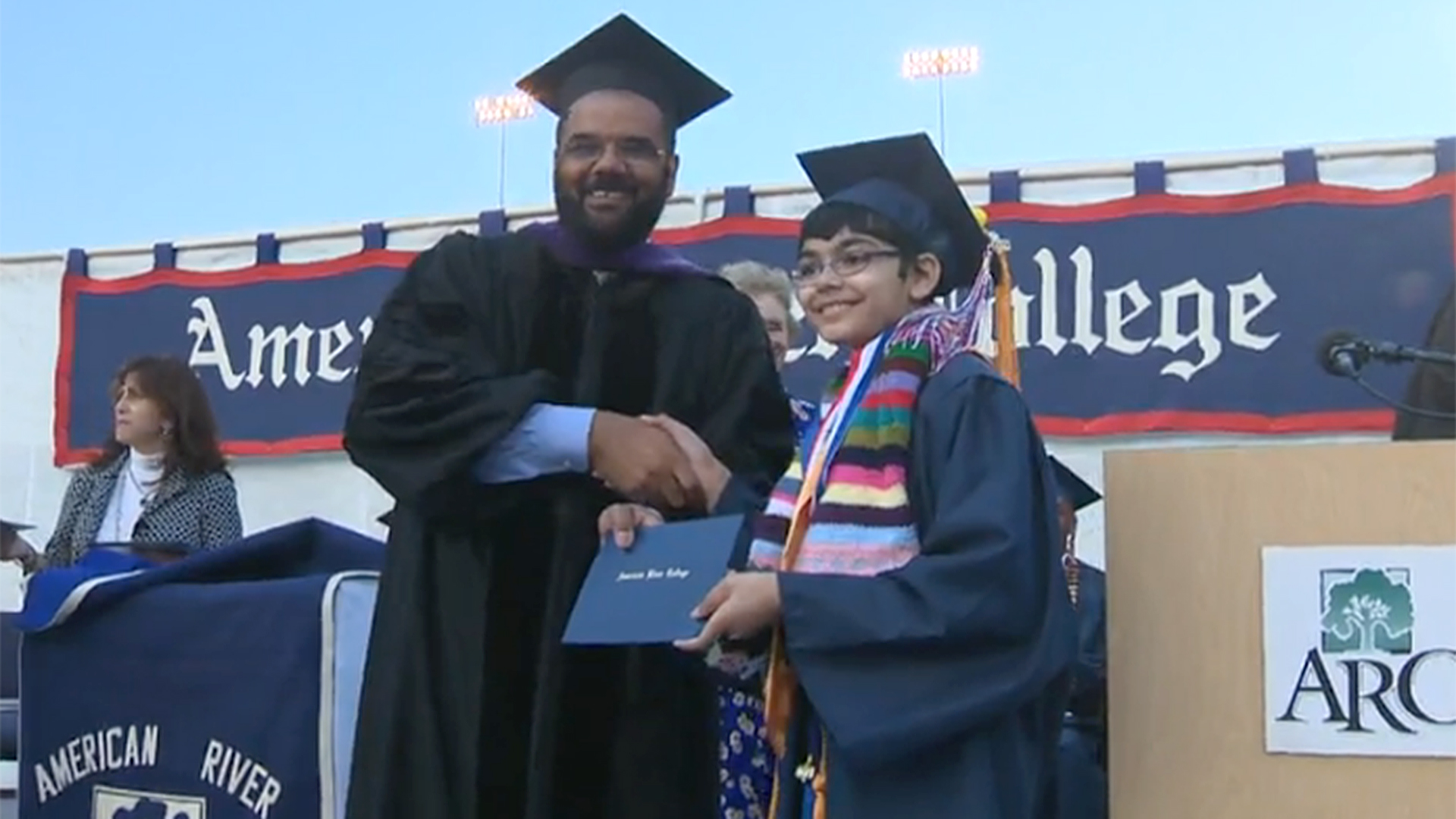 11-Year-Old Tanishq Abraham Graduates From California College