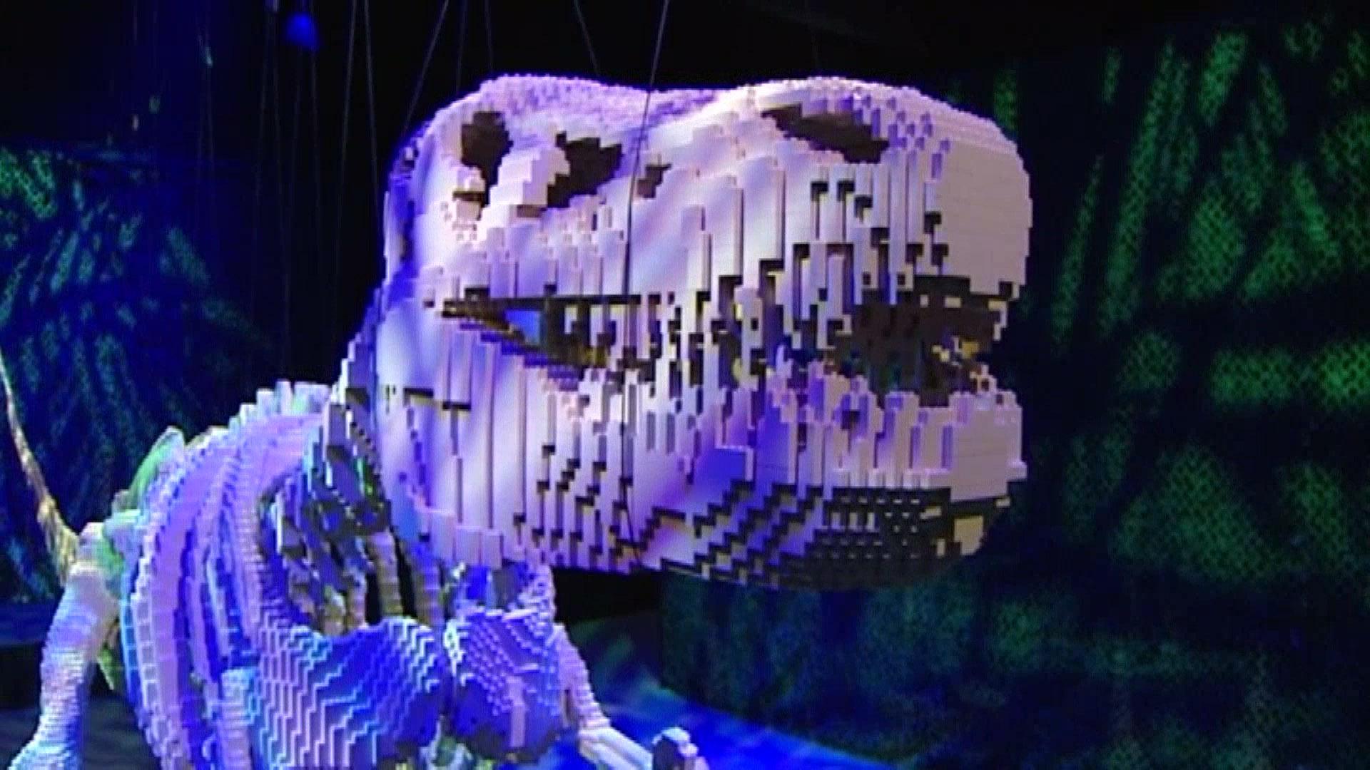 World's Largest Lego Art Exhibition Opens in Ohio - NBC News