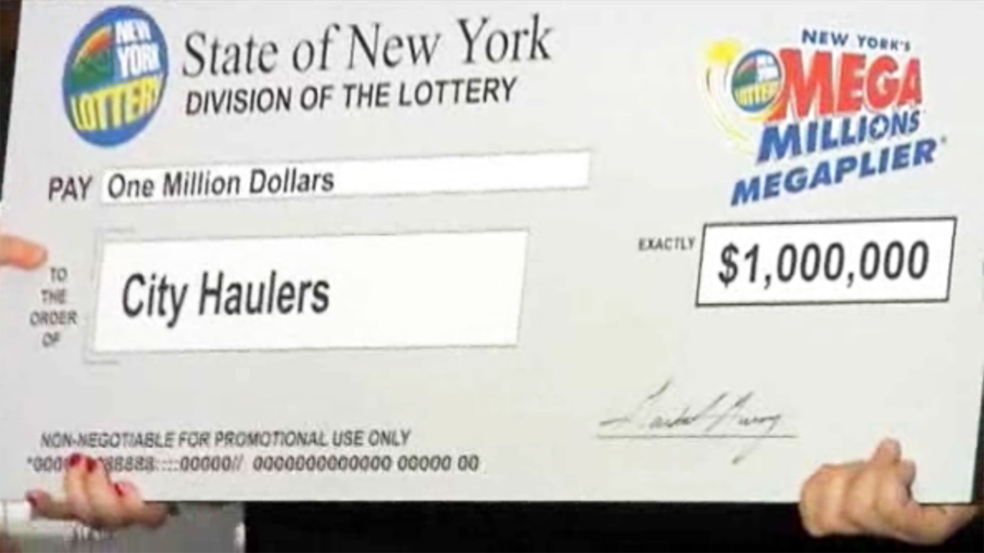 22 Workers Win 1 Million Lotto Nbc News