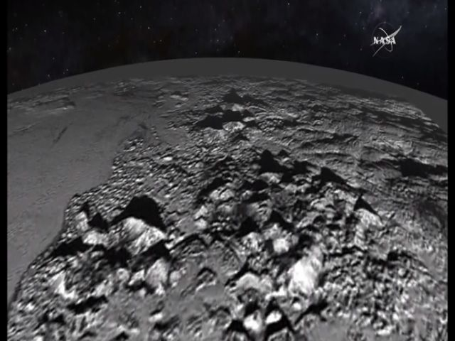 New Horizons' Latest: Fly Over Pluto's Ice Mountains and Alien Plains