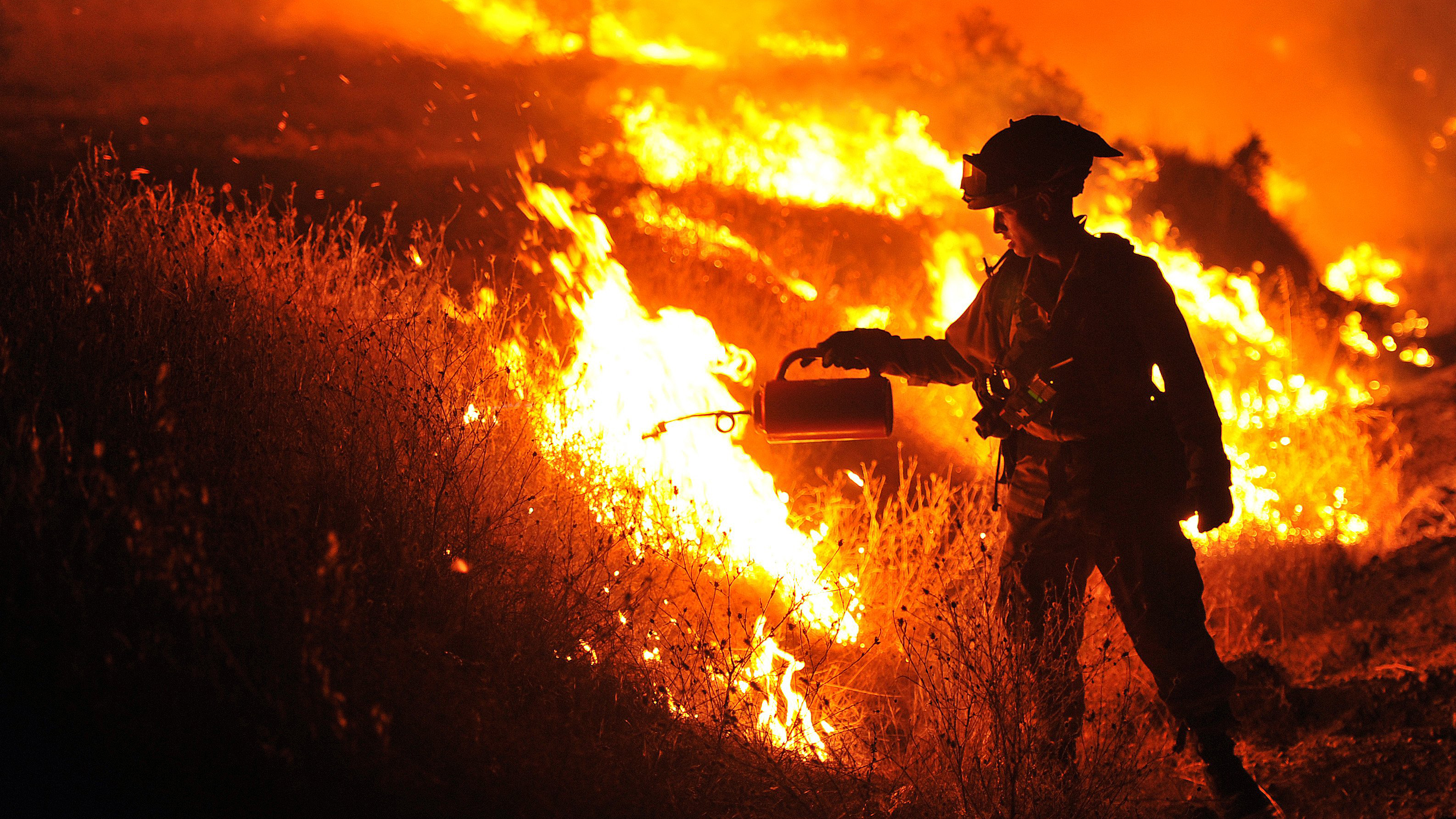 California Wildfires: Air Force Reserves Drafted In to Battle Blazes