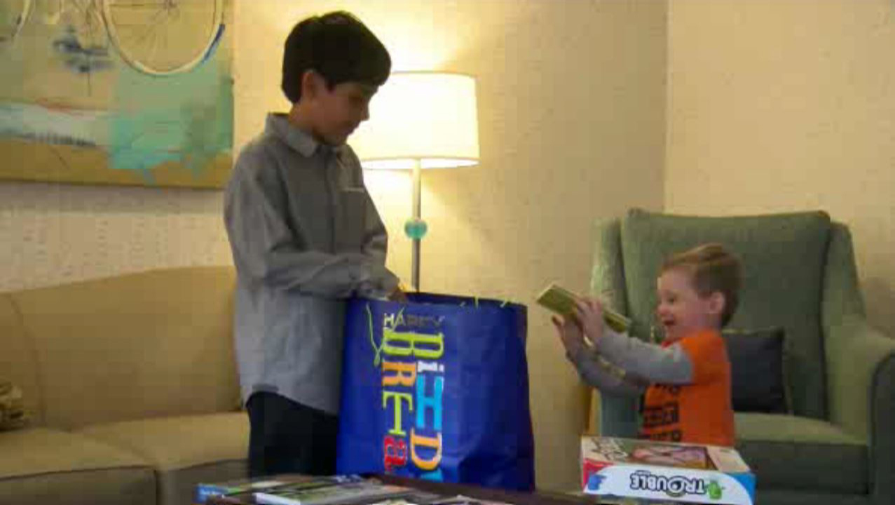 9 Year Old Boy Donates All His Birthday Gifts