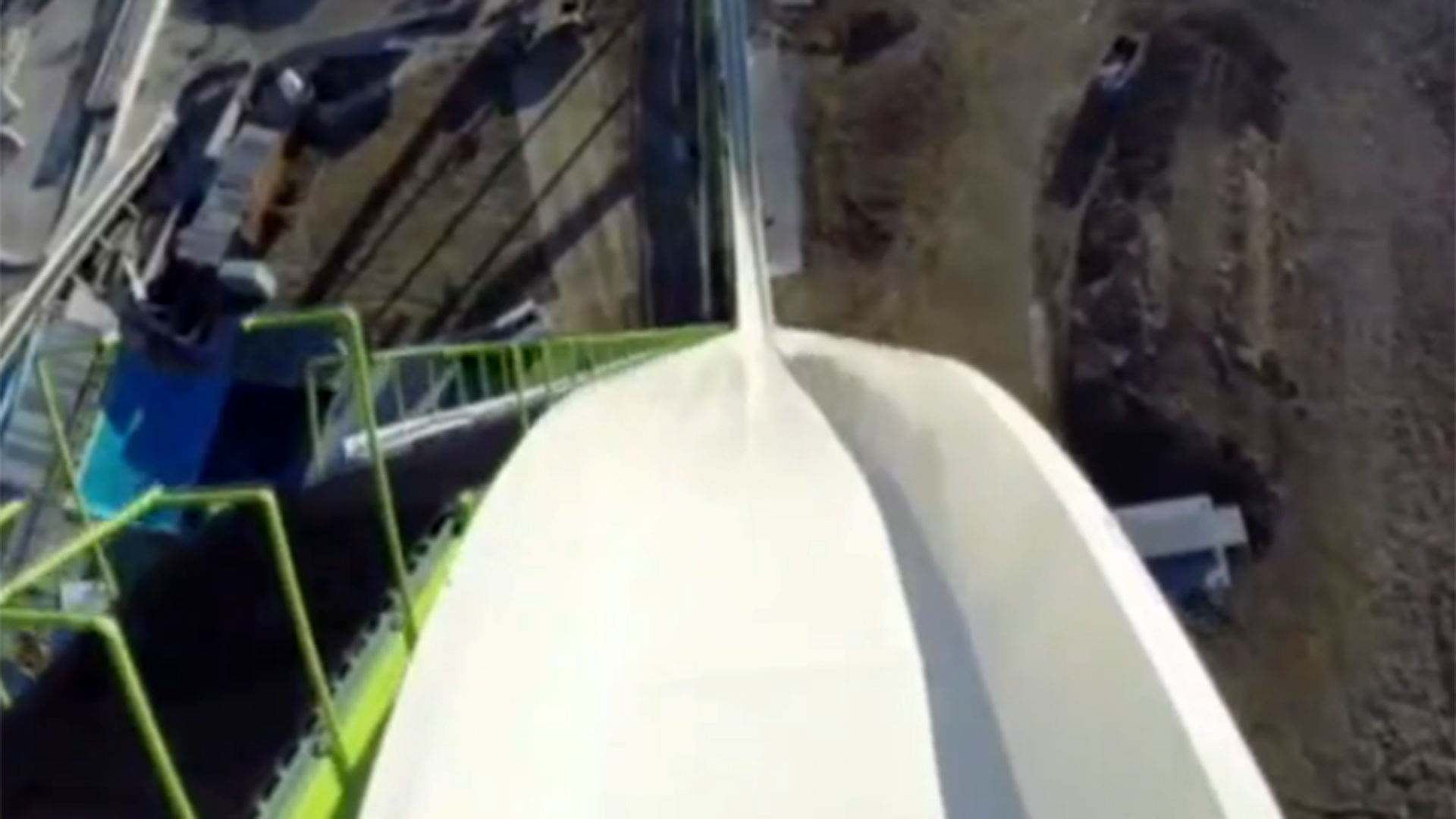 Take A Ride On The World S Tallest Water Slide Nbc News