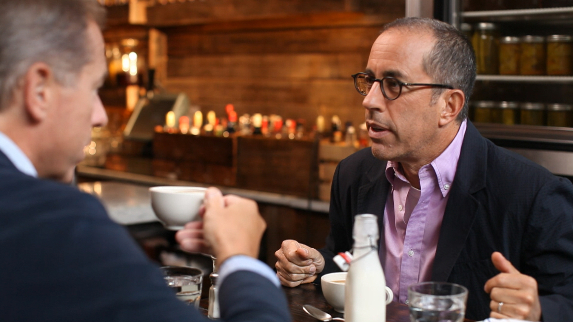 Jerry Seinfeld to Brian Williams: 'I Think I'm on the Spectrum'