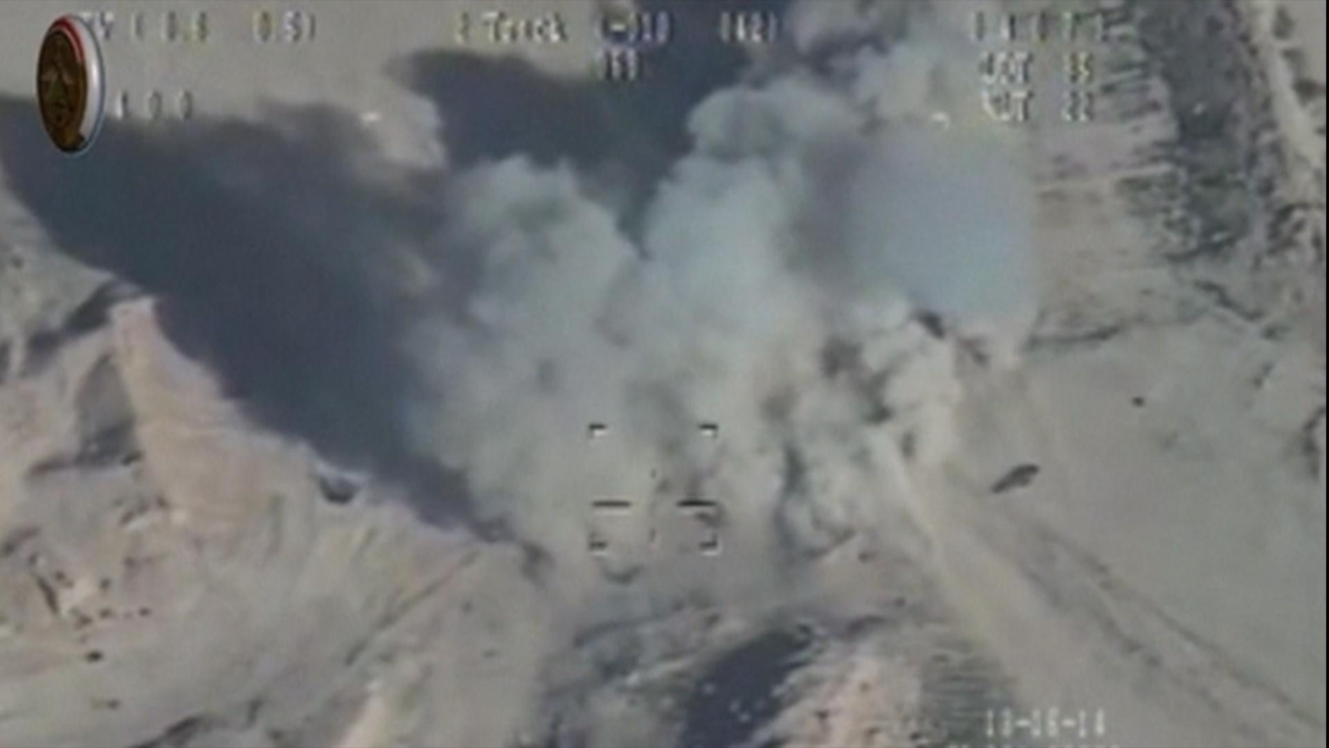 Iraqi Drone Strikes Pound Outskirts of Ramadi
