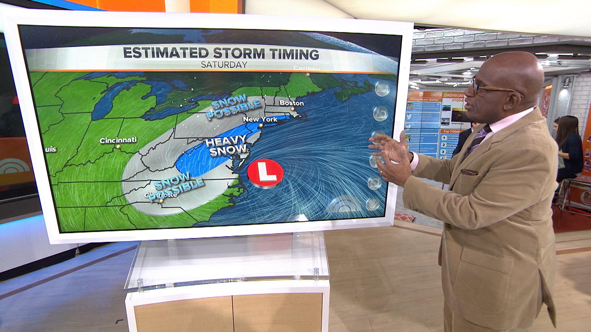Significant' storm predicted to hit East Coast - NBC News