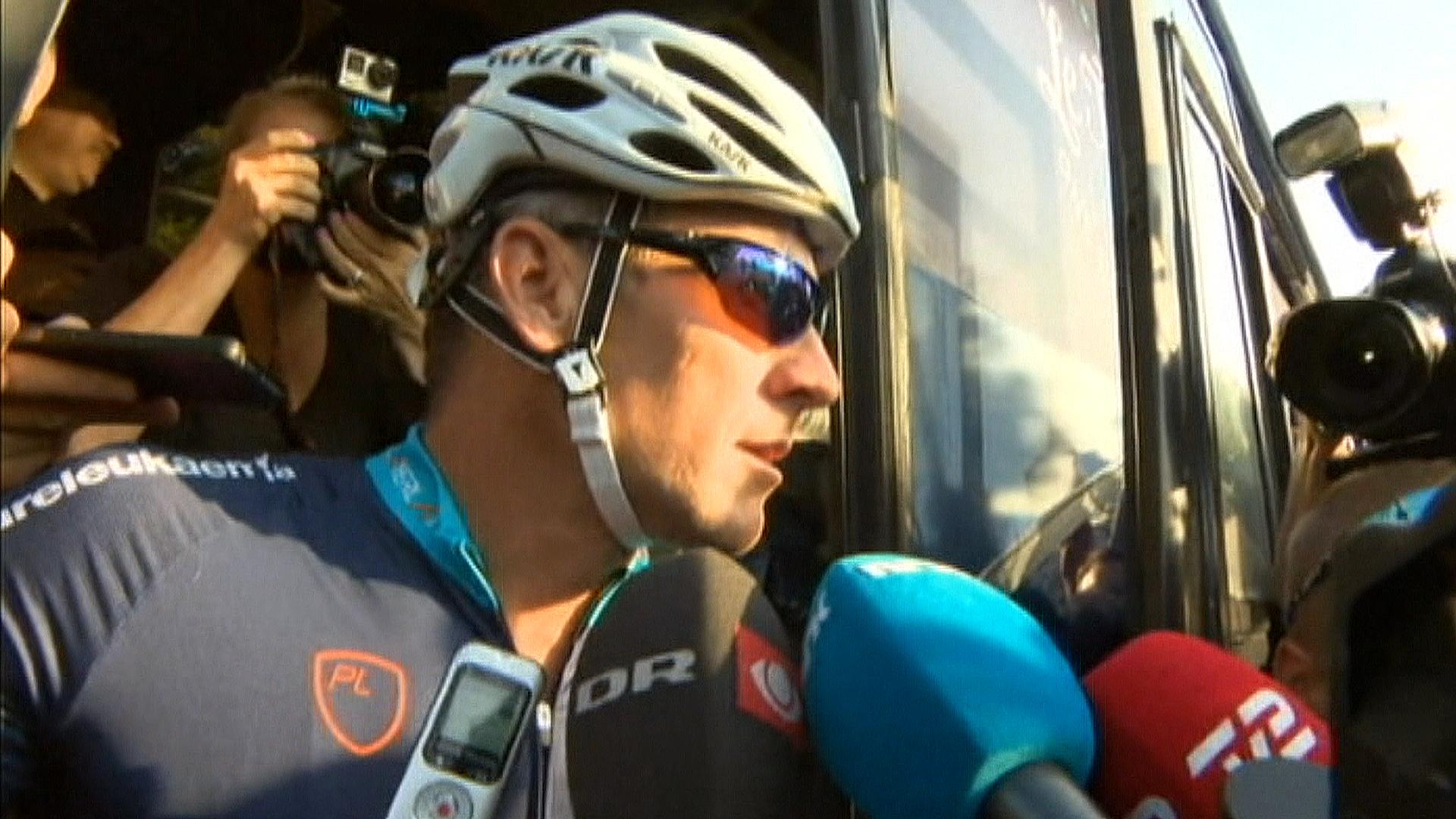 Lance Armstrong Media Frenzy - NBC News